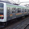 JR東日本大宮支社209系(八高線金子駅にて)