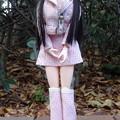 Photos: J5ジェニー用ファッションウェアを着て府中に来たREINA(東京競馬場にて)