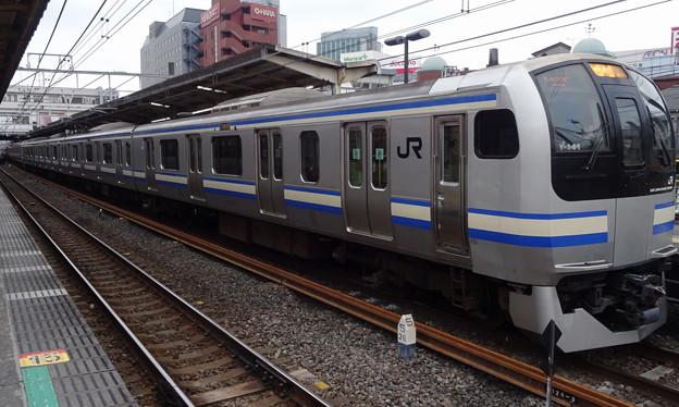 Photos: JR東日本横浜支社E217系(早春の津田沼駅にて)