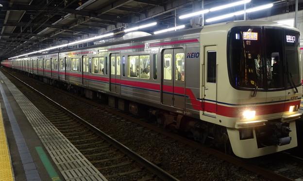 京王線系統8000系(第33回フェブラリーステークスの帰り)
