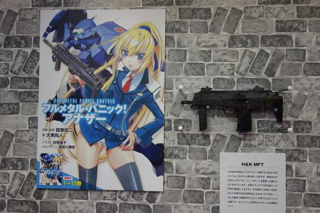 フルメタルパニック アナザー H&K MP7