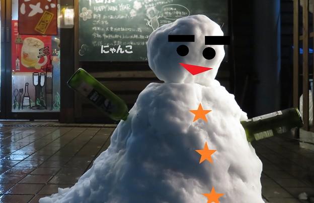 ~雪だるま?~
