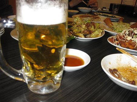 ビールです