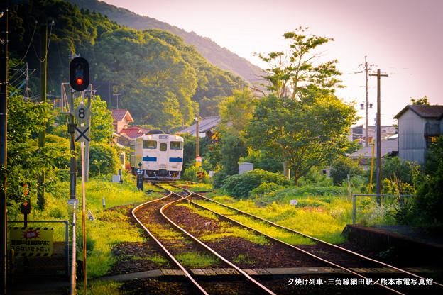 夕焼け列車。