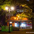 写真: 県庁前。