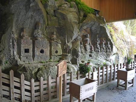 臼杵石仏 ホキ石仏第一群(4)第三龕、第四龕