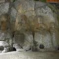 写真: 臼杵石仏 ホキ石仏第一群(3)第一龕