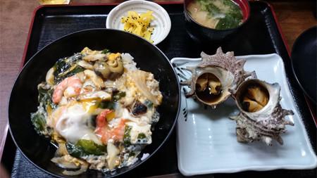 中西食堂・壺焼きセット