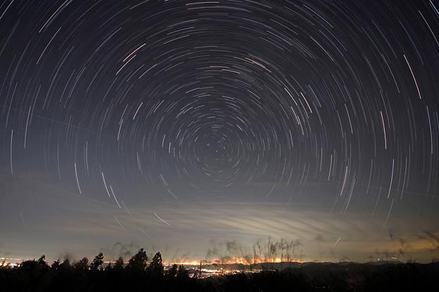 生石高原の夜景