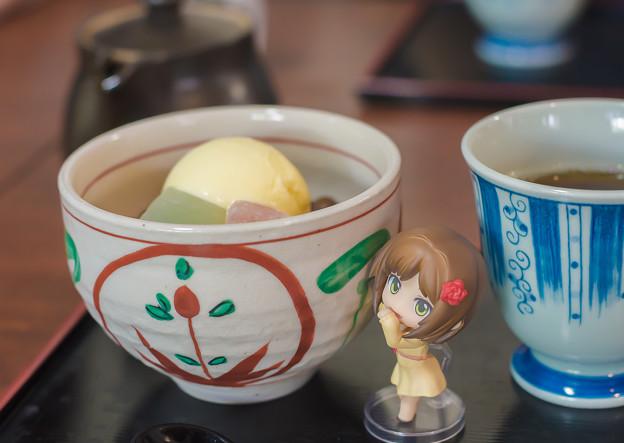 前川みく 料理番組のおしごと(甘味処)