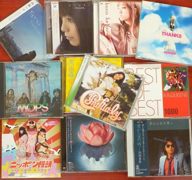 お気に入りの音楽CD (撮り直し再び)