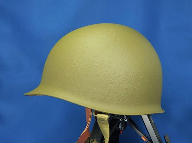 M1 helmet  米軍M1ヘルメット(レストア品) 真横アングル
