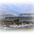 鉄橋を走る列車
