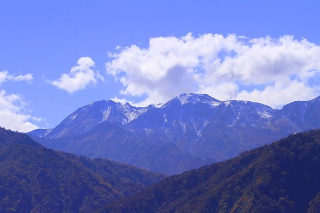 白山雪化粧 白山白川郷ホワイトロード(1)