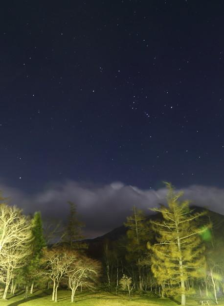 ホテルの窓から 南の星空(1)
