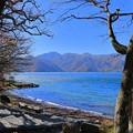 紅葉の中禅寺湖(2)
