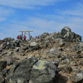 茶臼岳 山頂の鳥居