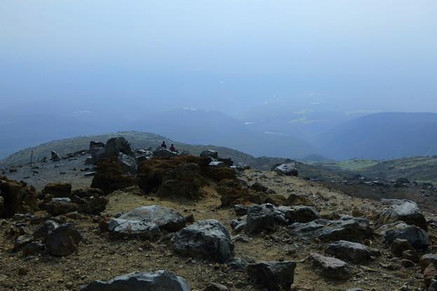 茶臼岳から