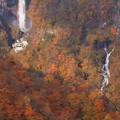 華厳の滝と白雲の滝