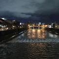 Photos: 浅野川 主計町茶屋街(左) 中の橋