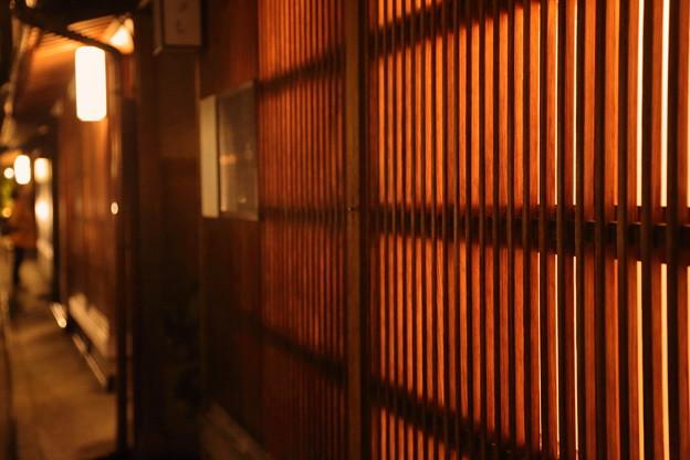 Photos: 紅殻格子  金沢ひがし茶屋街