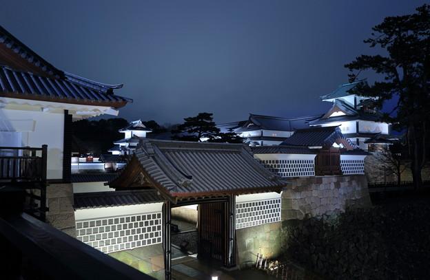 金沢城と河北門