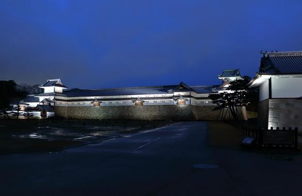 金沢城  橋爪門と河北門