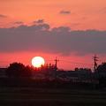今日の夕陽(2)