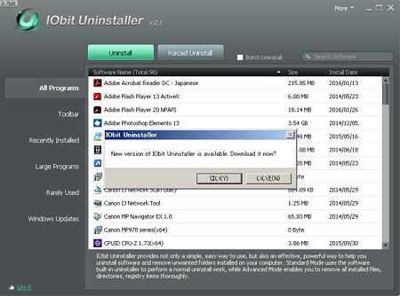 IObit Uninstaller new