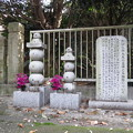 Photos: 五輪塔と墓碑