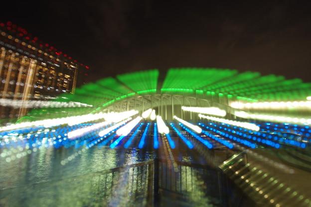 ずらし照らし勝鬨橋