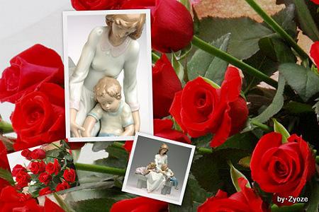 リヤドロと赤い薔薇2