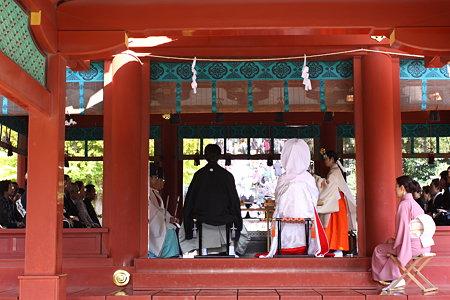 鶴岡八幡宮舞殿の結婚式