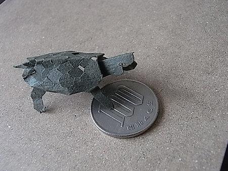 ¥100見つけたよ■切り折り紙