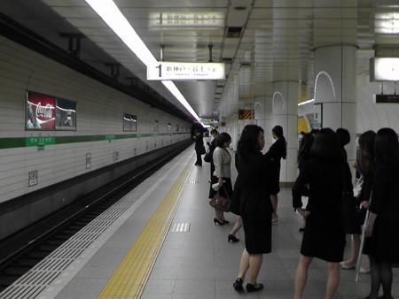 地下鉄三宮駅の写真0001