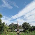 般若寺2014 秋の空