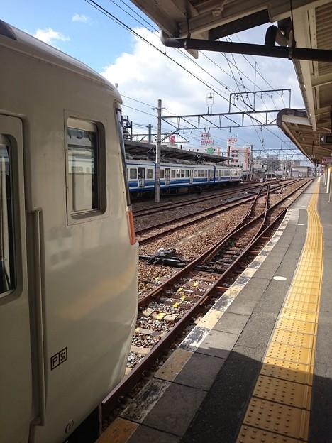 Photos: 渡り線