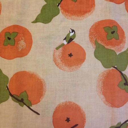 柿手ぬぐい