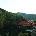 Photos: X70_-奥多摩_赤い橋-0492