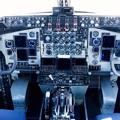 Photos: KC-135ストラトタンカーの操縦席。。