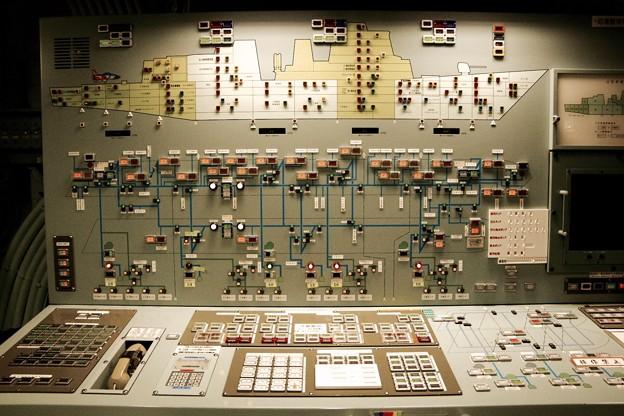 護衛艦あたごの制御室。。横須賀基地一般公開