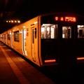撮って出し。。レトロな駅。。門司港ホーム 817系普通列車。。11月21日