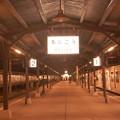 レトロな町。。北九州門司港駅ホーム。。11月21日