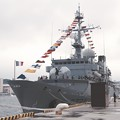 観艦式参加の為 横須賀基地へ。。フランス海軍フリゲート艦ヴァンデミエール。。10月17日