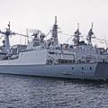 観艦式参加の為韓国海軍駆逐艦テジョヨン。。一般公開10月17日