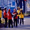 Photos: 箱根駅伝を支える若いスタッフたち。。横浜鶴見中継所 1月3日