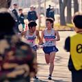 Photos: 無事に襷リレー。。日体大 箱根駅伝鶴見中継所1月3日