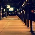 夜は静寂な門司港駅ホーム。。20151121