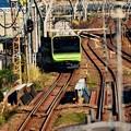 品川へ向かって。。横須賀線 山手線新型車両235系。。20151129