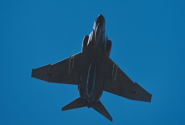 写真: 新田原基地航空祭予行。。第301飛行隊F-4ファントム AGGデモストレーション1